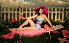 DIY Halloween costume - Katy Perry
