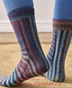 Knitted Socks Free Pattern, Knitting Socks, Knitting Patterns, Knit Socks, Slipper Socks, Slippers, Cool Socks, Awesome Socks, Leg Warmers