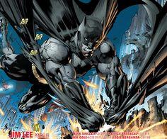 Batman New 52 Justice League Art By Jim Lee Poster Grandnightconvoymare