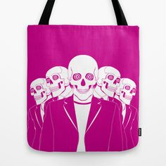 Dead Gang Tote Bag by ohzemesmo - $22.00