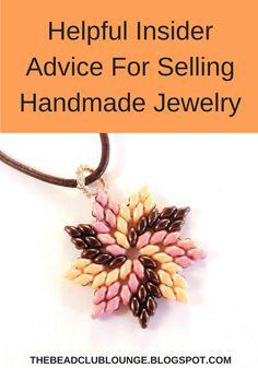 The Bead Club Lounge: Helpful Insider Advice For Selling Handmade Jewelry