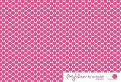 Blue Hill Fabrics Party Dress Pink Polka Dot Fabric