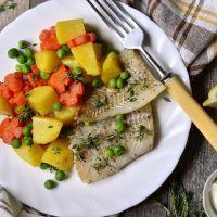 Thyme Tilapia and  Potatoes