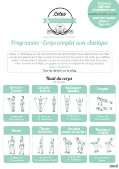 PARTIE 1/2 : PROGRAMME CORPS COMPLET AVEC ELASTIQUE #squats #motivation #fitfrenchies #fitness #fitfam #tbc #eatclean #traindirty #fitnessgirl #fitfamily #bbg #musculation #sport #traindirty #satisfaction #stretching #etirements #elastique