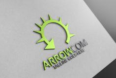 Arrow com Logo by Josuf Media on @creativemarket