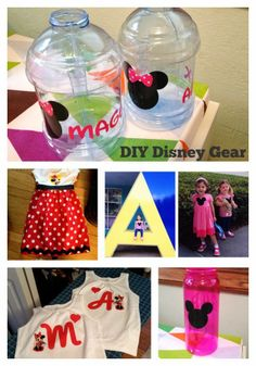 DIY Disney Clothes and Gear