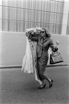 Leaving Hollywood in 1956.   - ELLE.com