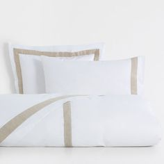Image of the product Contrasting Linen Trim Percale Bed Linen