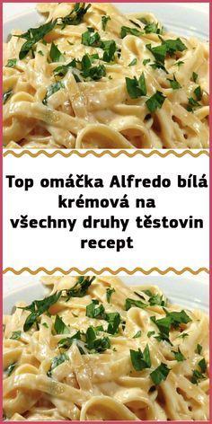 Czech Recipes, Russian Recipes, Ethnic Recipes, No Salt Recipes, Pasta Recipes, Cooking Tips, Cooking Recipes, Good Food, Yummy Food