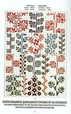 FolkCostume&Embroidery: May 2016 – knitting charts Cross Stitch Borders, Cross Stitch Samplers, Cross Stitch Charts, Cross Stitching, Cross Stitch Patterns, Folk Embroidery, Cross Stitch Embroidery, Embroidery Patterns, Machine Embroidery