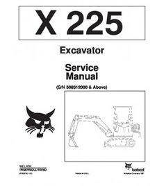 bobcat 310 313 skid steer loader service repair manual pdf heavy rh pinterest com Bobcat Parts Manual Bobcat Parts