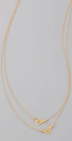 Love Birds Necklace $78, ShopBop