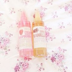 Strawberry and vanilla body mist
