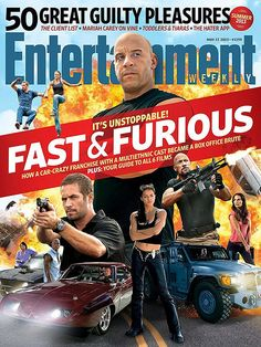 """""""Fast & Furious 6"""" / Entertainment Weekly cover (May 2013)"""