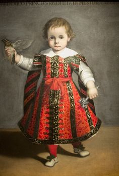 Alessandro Vitali (1580-1630) Frederico, Prince of Urbino at the Age of Eighteen Months,1606 : Detroit Institute of Arts, Detroit. USA (741x1100)