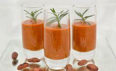 Creme de tomate picante com chocolate intenso - http://superchefs.com.br/creme-de-tomate-picante-com-chocolate-intenso/ - #Chocolate, #Receitas, #Tomate