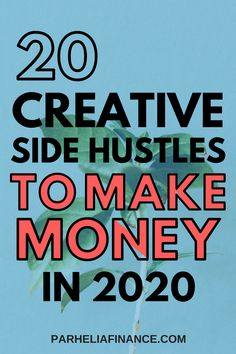 make money creative Looking for creative ways to make money in 2020 Heres a list of legitimate side hustles to make money in You can even use some to make money from home. Earn Money Online Fast, Make Money Today, Make Money Fast, Make Money From Home, Way To Make Money, How To Make, Online Work From Home, Work From Home Tips, Show Me The Money