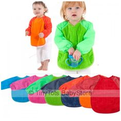 Love Mum2Mum Bibs...If your baby have started self feeding ,long sleeved bibs are a must have