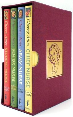 Cherry Ames Boxed sets...I have many of these and would love to collect more. The life of a nurse, the books dating back to before WWII. Passed down from my aunt, a nurse, who received them as a gift from my grandparents.
