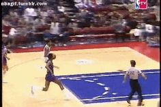 Why would you even bother trying to block Dr. J??!!