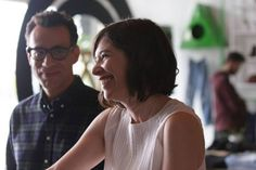 """greatwizardjenkins: """"This picture from the vanity fair article is simply great. Carrie Brownstein, Fred Armisen, Find People, Vanity Fair, Our Love, Carry On, Couple Photos, Couple Shots, Hand Luggage"""