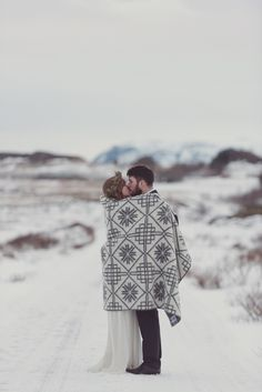 Image by Rebecca Douglas Photography - Iceland Elopement Inspiration | Images by Rebecca Douglas Photography | Rock The Frock Bridal Dresses | Flowers by SP