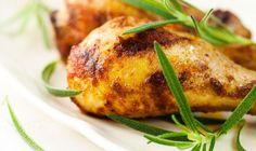 Kip in de oven met aardappeltjes