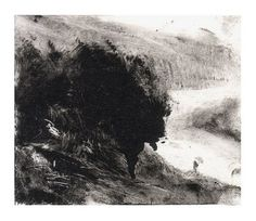 Classic Elevation In Modren Style ` Classic Elevation - Katina Skilling Landscape Drawings, Landscape Paintings, Intaglio Printmaking, Contemporary Printmaking, Photographie Portrait Inspiration, Etching Prints, Black And White Painting, Lovers Art, Art Sketches