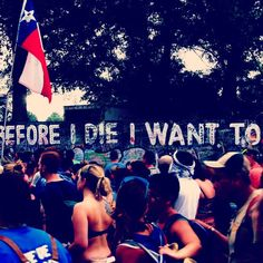 Bonnaroo 2013: Before I die I want to....