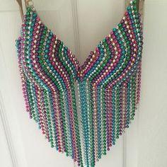 Beautiful custom made bra! Top was custom made for Mardi Gras. It's beautiful an… Beautiful custom made bra! Top was custom made for Mardi Gras. It's beautiful an…,Love ♡☆ Beautiful custom made bra! Mardi Gras Centerpieces, Mardi Gras Decorations, Mardi Gras Outfits, Mardi Gras Costumes, Burning Man, Raver Girl, Mardi Gras Parade, Mardi Gras Beads, Diy Tops
