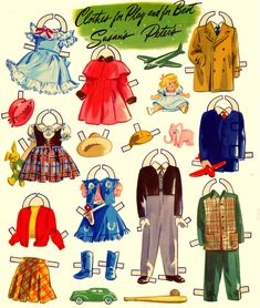 Bride and Groom Paper Dolls by Merrill 1949