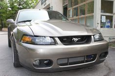Cobra R style cowl for new edge Mustangs