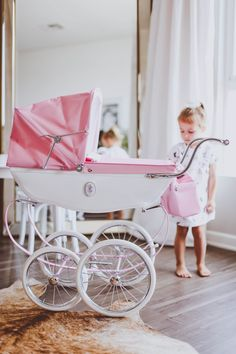Sharing our experience with the Silver Cross doll's pram, the ultimate Christmas or birthday gift for little girls Double Strollers, Baby Strollers, Little Girl Gifts, Little Girls, Wooden Play Kitchen, Dolls Prams, Glitter Flowers, Clothes Crafts, Kids
