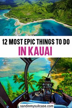 12 Most Epic Things to do in Kauai. Kauai has blossomed in the past few years with tons of amazing hotels, restaurants and fun activities. Here are the best things to do in Kauai that you might not heard of yet! Discover also the best beaches in Kauai. Kauai Vacation, Hawaii Honeymoon, Maui Hawaii, Hawaii Life, Italy Vacation, Spring Break Destinations, Travel Destinations, Holiday Destinations, Hawaii Travel Guide