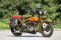 Vintage 1929 Harley JDH Two Cam Ready for Mile Motorcycle Cannonball Ride ! Harley Davidson Merchandise, Harley Davidson Gifts, Harley Davidson Motorcycles, Harley Bobber, Harley Davison, Old Bikes, Vintage Bikes, Vintage Motorcycles, Bobbers