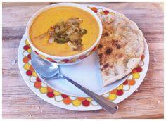 Roasted Carrot & Ginger Soup