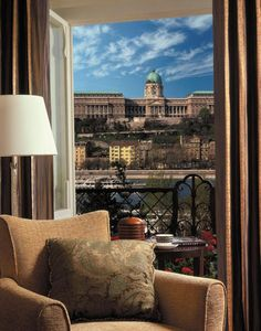 View from Four Seasons Gresham Palace, Budapest