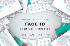 Face ID Concept by Blogoodf on @creativemarket
