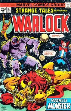 "Warlock Epic 4: Starlin turns everything on its head - ""The Madness Monster"""