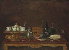 STILL LIFE WITH A CHOCOLATE-POT, OIL ON CANVAS, ATTRIBUTED TO ANDRE BOUYS