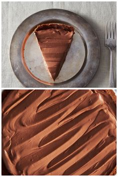 Vegan Chocolate Pie By Gena Hamshaw • dairy free | vegan |