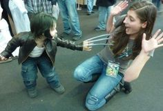 Hilarious little Logan