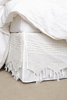 From Pom Pom at Home Crochet bedskirt