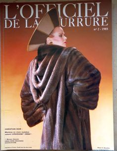 "alte franz. PELZ-FACHZEITSCHRIFT ""L'Officiel de la fourrure"" 1985/2 Zobel Luchs in Antiquitäten & Kunst, Kleidung & Accessoires, Kleidung, Pelze | eBay"
