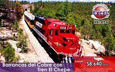 Paquetes de Viajes a Barrancas del Cobre con Tren El Chepe | Agencia de Viajes en Xalapa Excel Tours