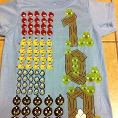 My seven-year-olds shirt for the 100th day of school.  With acrylic paint, so not washable, but he loved it!