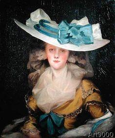 John Hoppner - Portrait of Mary Benwell (fl.1761-1800), c.1785