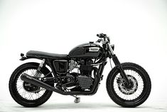 Here's a new name on the custom scene, CMP Project from Argentina. Their build #5 is this very tasty Triumph Bonneville.
