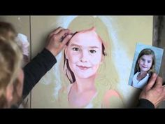 How to paint a Pastel Portrait - excellent video