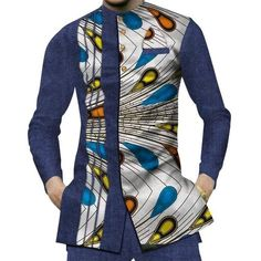 African Fashion at DUKAIKO - African clothing, Bikinis, kaftans & African Wear Styles For Men, African Shirts For Men, African Dresses Men, African Attire For Men, African Clothing For Men, Nigerian Men Fashion, African Men Fashion, Africa Fashion, Traditional African Clothing